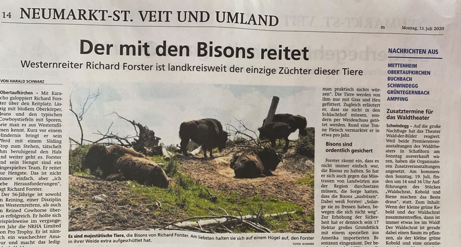 Bullero Ranch_Der_mit_den_Bison_reitet